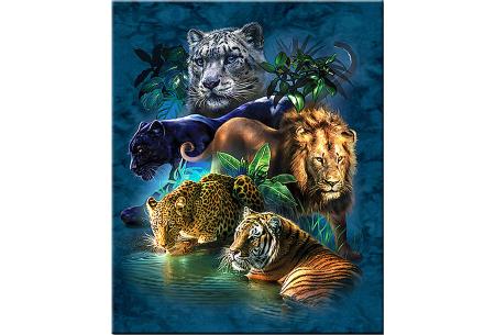 Diamond painting wilde dieren | Keuze uit 5 wildlife schilderijen! #1