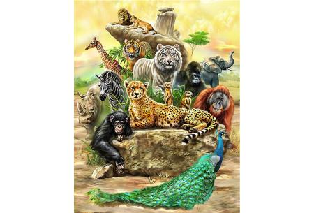 Diamond painting wilde dieren | Keuze uit 5 wildlife schilderijen! #2
