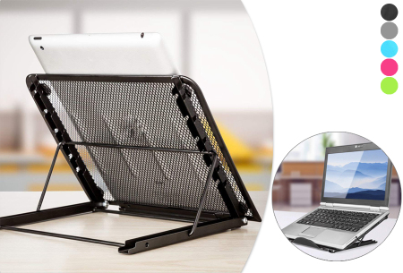 Universele standaard | Ideaal voor laptop, tablet, kookboek of Diamond painting