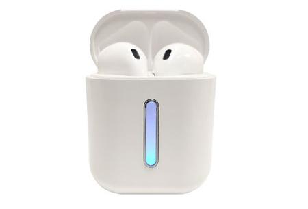 Draadloze bluetooth earbuds | Oordopjes met luxe oplaadcase - Keuze uit 5 kleuren!  Wit