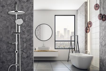 Regendouche met afneembare handdouche | Met ronde of vierkante douchekop