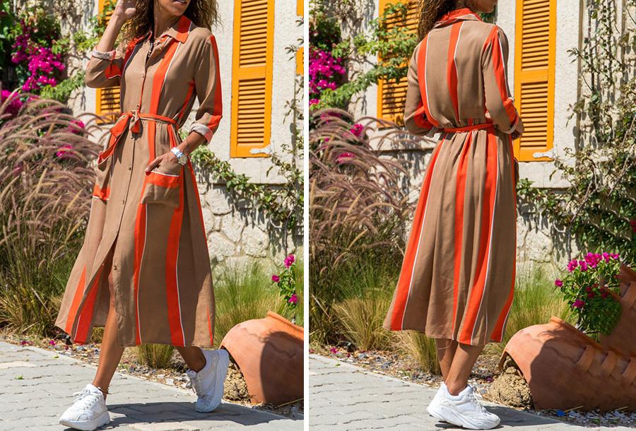 Lange blousejurk Maat M - #5