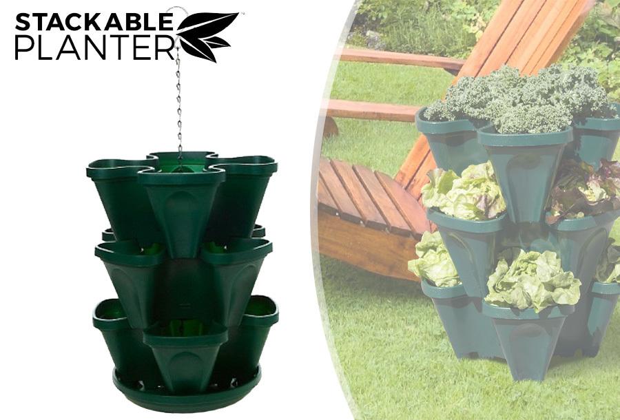 Stackable Planter plantenbakken met 68% korting