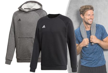 Adidas sweater of hoodie voor heren in de aanbieding