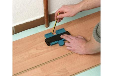 Aftekenhulp | Handige afmeettool bij het klussen - Ideaal bij het leggen van vloeren!