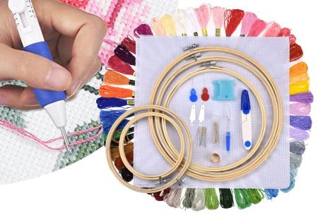 Borduurpakket | Complete set om de mooiste creaties te borduren!