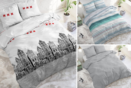 Cotton Blend dekbedovertrekken van Sleeptime | Stijlvol beddengoed in 6 printjes