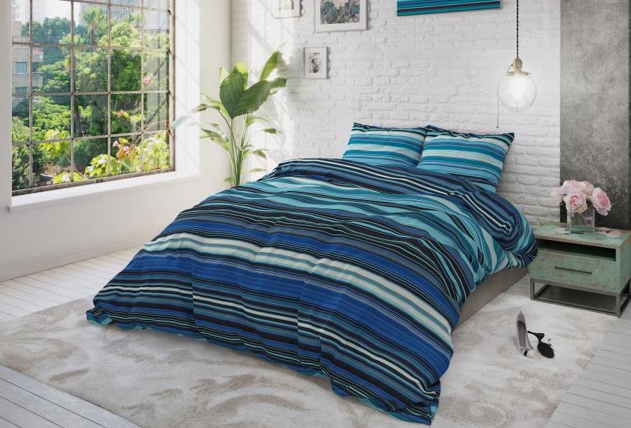 Cotton Blend dekbedovertrekken Maat 240 x 220 cm - James