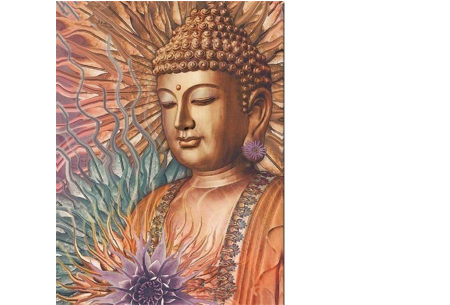 Diamond painting boeddha | Compleet pakket - kies uit 15 uitvoeringen! #3