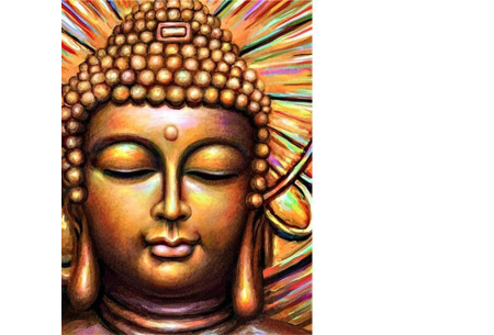 Diamond painting boeddha | Compleet pakket - kies uit 15 uitvoeringen! #9
