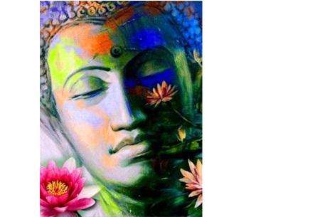 Diamond painting boeddha | Compleet pakket - kies uit 15 uitvoeringen! #10