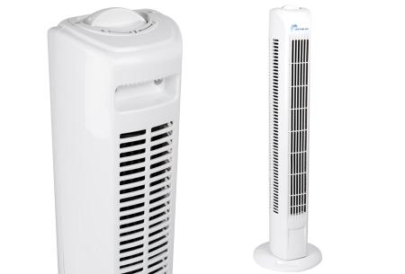 Life Time Air torenventilator | Staande ventilator voor thuis of op kantoor