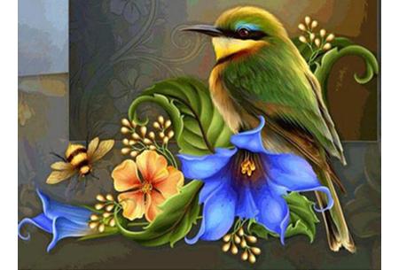 Diamond painting vogels | Creëer zelf prachtige schilderijen met kleurrijke vogelsoorten! #1