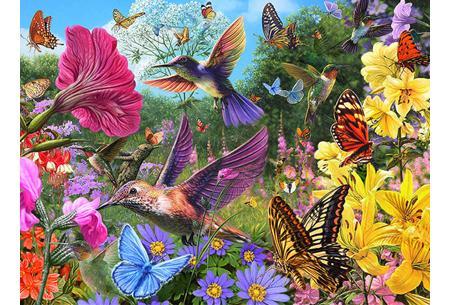 Diamond painting vogels | Creëer zelf prachtige schilderijen met kleurrijke vogelsoorten! #5