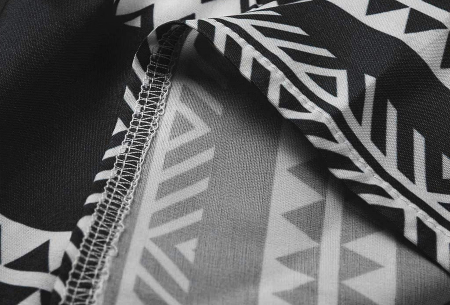 Aztec tuniek | Hippe zomerjurk van luchtige stof