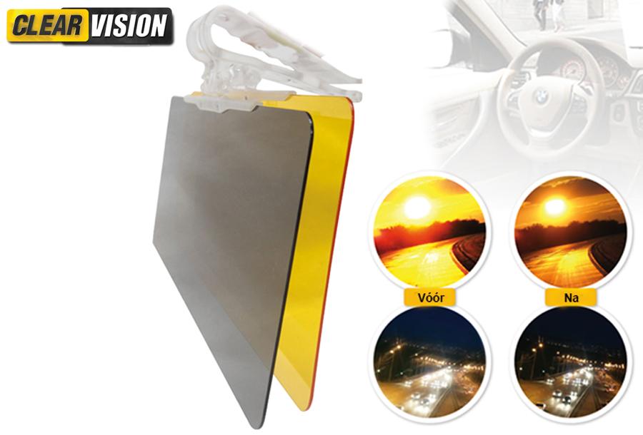 In de aanbieding: Clear Vision auto zonneklep