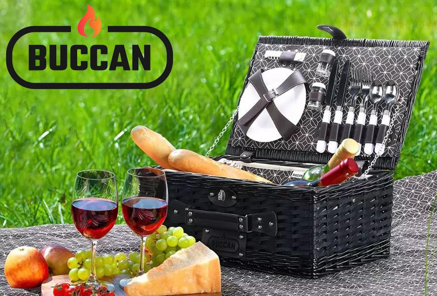 Buccan complete picknickmand nu met korting