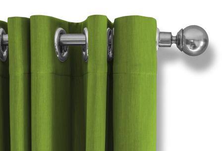 Lifa Living verduisterende gordijnen | Kant & klaar verkrijgbaar in 10 kleuren en 2 maten Appelgroen ringen