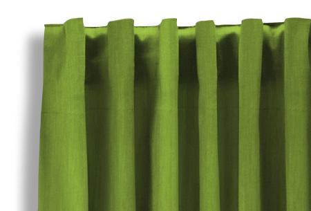 Lifa Living verduisterende gordijnen | Kant & klaar verkrijgbaar in 10 kleuren en 2 maten Appelgroen haken