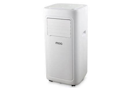Mobiele airco's van Moa | Kies uit een 3- of 4-in-1 airconditioner! Moa 3-in-1 airco