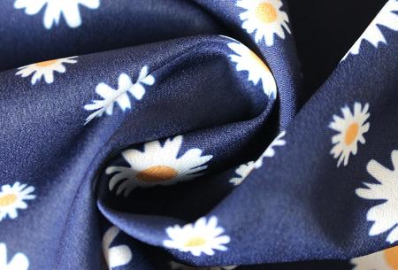 Overslagjurk | Met trendy bloemen- of panterprint