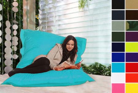 Drop & Sit zitzak Legerprint groen - 130 x 150 cm