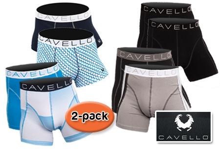 e6774b51560 € 14,95 voor een 2-pack Cavello boxershorts t.w.v. € 29,95