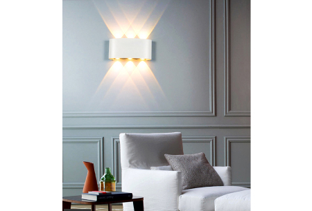 Design led-wandlampen | Luxe binnen- en buitenlamp in diverse uitvoeringen