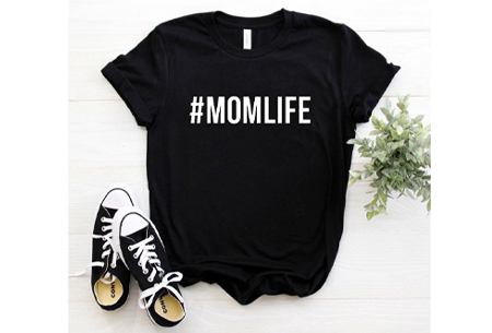 Dames T-shirt met tekst | Originele, grappige quotes - in 6 kleuren!  #1 - zwart