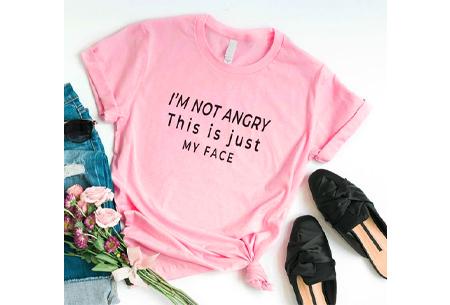 Dames T-shirt met tekst | Originele, grappige quotes - in 6 kleuren!  #2 - roze