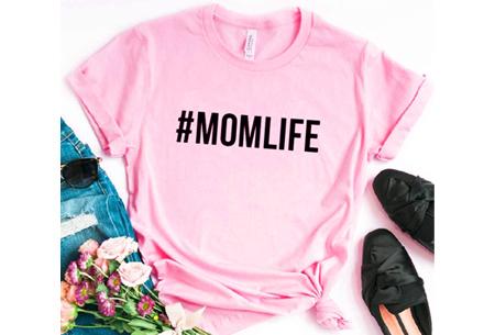 Dames T-shirt met tekst | Originele, grappige quotes - in 6 kleuren!  #1 - roze