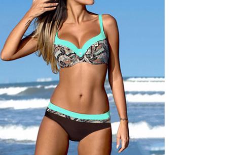 Bikini sale - Maat XS - #2 - Summer Chique bikini - #1 - Ibiza blue