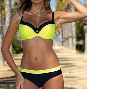 Bikini sale - Maat L - #3 - Beauty Beach bikini - #2 Uni yellow