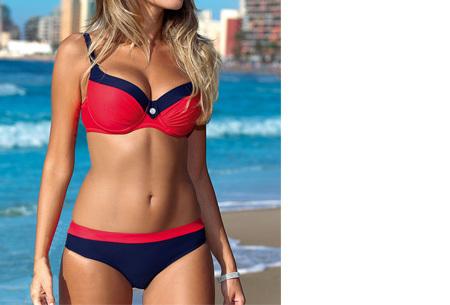 Bikini sale - Maat M - #3 - Beauty Beach bikini - #3 Uni red