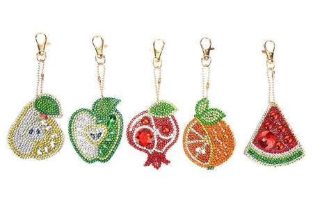 Diamond painting sleutelhangers | Compleet doe-het-zelf pakket met 3, 4, 5 of 6 sleutelhangers - Kies uit 15 sets B