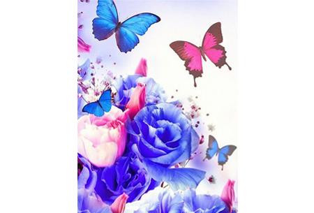 Diamond painting vlinders | Kies uit 14 prachtige schilderijen - in 5 formaten  #4
