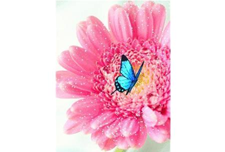Diamond painting vlinders   Kies uit 14 prachtige schilderijen - in 5 formaten  #10