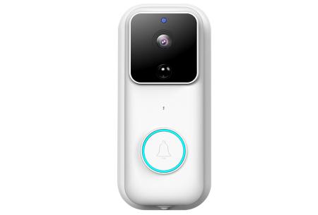 Draadloze deurbel met camera | Mis nooit meer een pakketje of (ongewenst) bezoek - Met handige app