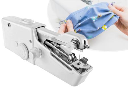 Mini handnaaimachine | Gemakkelijk je eigen mondkapje maken!