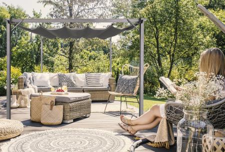 Intimo tuinpaviljoen | Luxe Sofia tuinprieel - Uv- en weerbestendig
