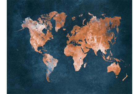 Diamond painting wereld | Schitterende schilderijen van de complete wereldkaart! #1