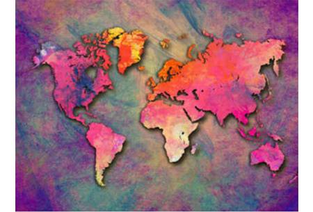 Diamond painting wereld | Schitterende schilderijen van de complete wereldkaart! #3