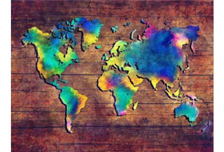 Diamond painting wereld | Schitterende schilderijen van de complete wereldkaart! #2