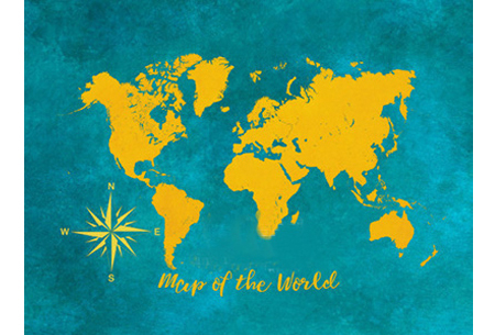 Diamond painting wereld | Schitterende schilderijen van de complete wereldkaart! #5