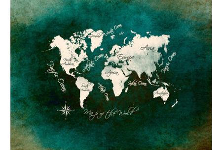 Diamond painting wereld | Schitterende schilderijen van de complete wereldkaart! #6