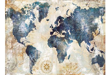 Diamond painting wereld | Schitterende schilderijen van de complete wereldkaart! #10