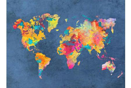 Diamond painting wereld | Schitterende schilderijen van de complete wereldkaart! #9