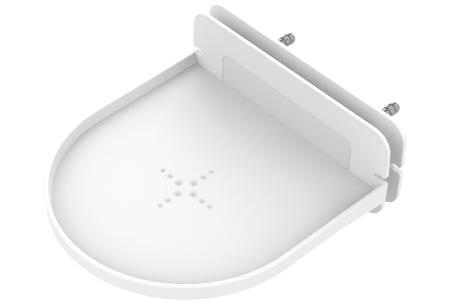Slimme speaker standaard | Zwevend wandplankje voor o.a. jouw Google Home of Sonos - Set van 2 of 4 Wit