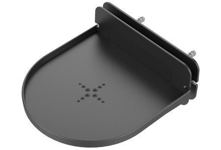 Slimme speaker standaard | Zwevend wandplankje voor o.a. jouw Google Home of Sonos - Set van 2 of 4 Zwart