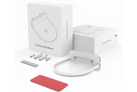 Slimme speaker standaard | Zwevend wandplankje voor o.a. jouw Google Home of Sonos - Set van 2 of 4